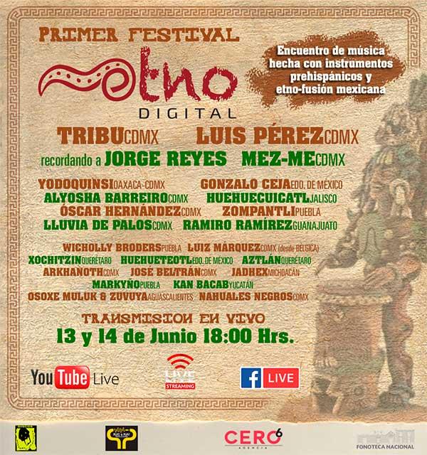 Festival ETNO artistas