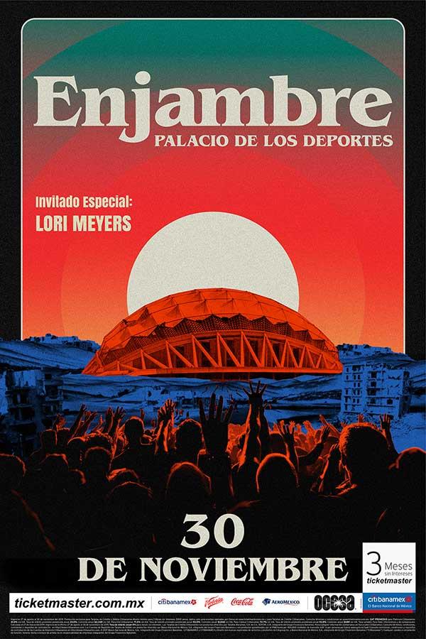 Enjambre en concierto el 30 de noviembre